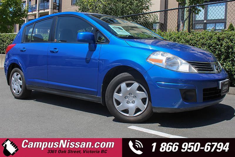 2008 Nissan Versa S 6spd Manual Transmission #JN2511B