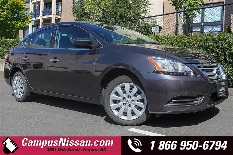 2015 Nissan Sentra S Manual - Low KM #7-X517A
