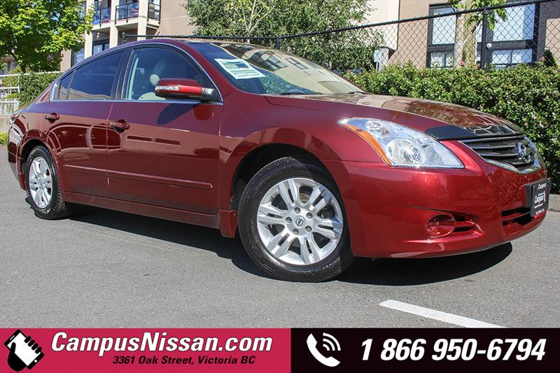 2012 Nissan Altima SL Package - Leather + BackUp Cam #A7041