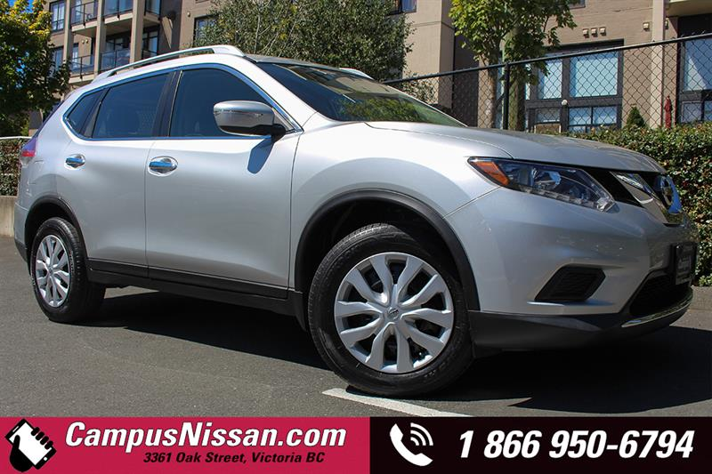 2014 Nissan Rogue S AWD w/ Back Up Cam #A7066