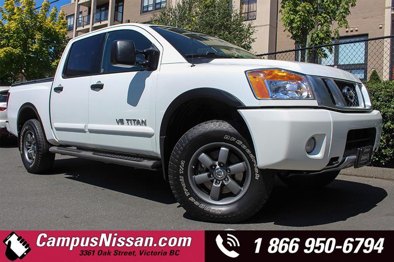 2014 Nissan Titan Crew Cab PRO-4X Navi + Leather #7-U571A
