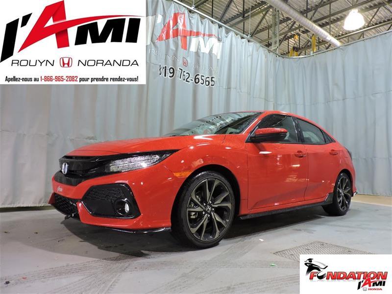 Honda Civic Hatchback 2017 Sport Touring #17389