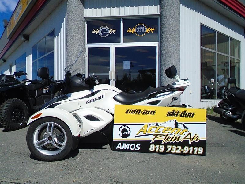 Can-am Spyder RS 2012