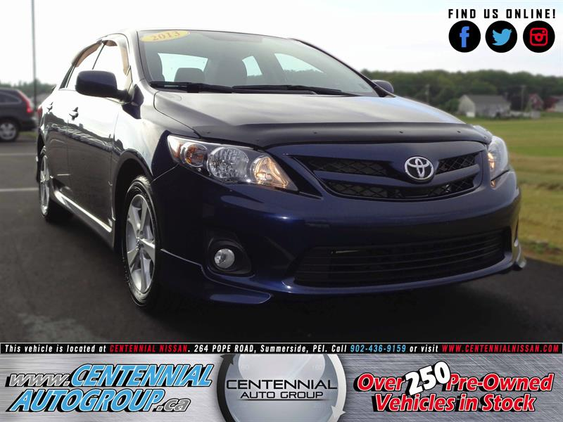 2013 Toyota Corolla S | 1.8L | Great Car | #S17-023A
