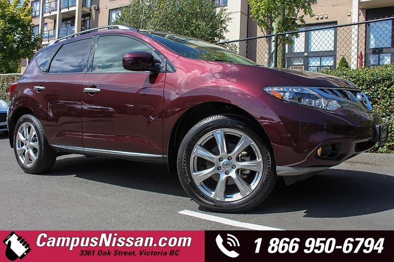 2013 Nissan Murano SL AWD w/ Leather and Navi #7-Q666A