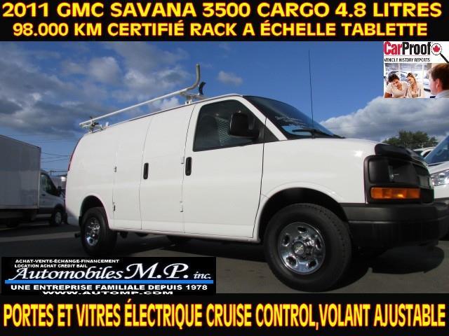 Chevrolet Express 3500 2011 CARGO 98.000 KM VOIR ÉQUIPEMENT #79