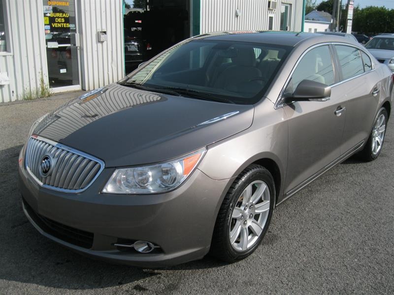 Buick LaCrosse 2010 4dr Sdn CXL FWD #PV6356A