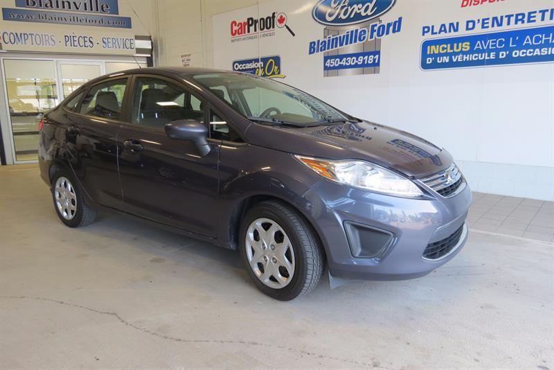 Ford Fiesta 2012 SE 4 PORTES SEDAN. #217106A