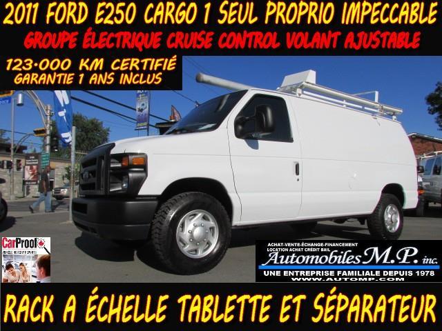 Ford E-250 2011 CARGO RACK A ÉCHELLE TABLETTE GROUPE ÉLECTRIQUE #385