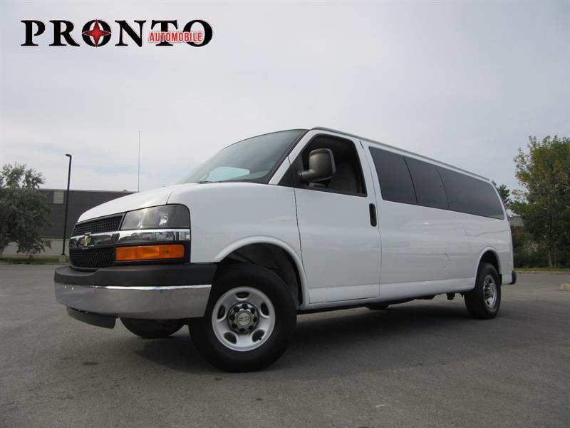 Chevrolet Express Passenger 2009 3500 ** Allongé * Extended ** 15 passagers ** #3438