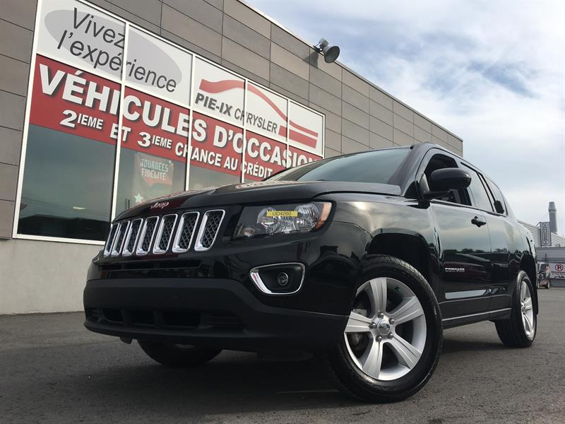 Jeep Compass 2016 4WD 4dr High Altitude+CUIR+TOIT+MAGS+WOW! #UD4260