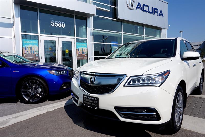 2016 Acura MDX SH-AWD 4dr Nav Pkg #796260A