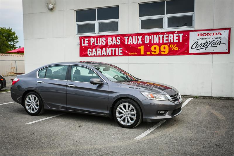 Honda Accord Sedan 2014 4dr I4 CVT Touring #U1201