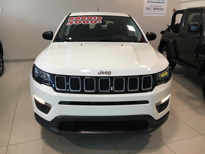 Jeep Compass 2017 4WD 4dr Sport #ud4302