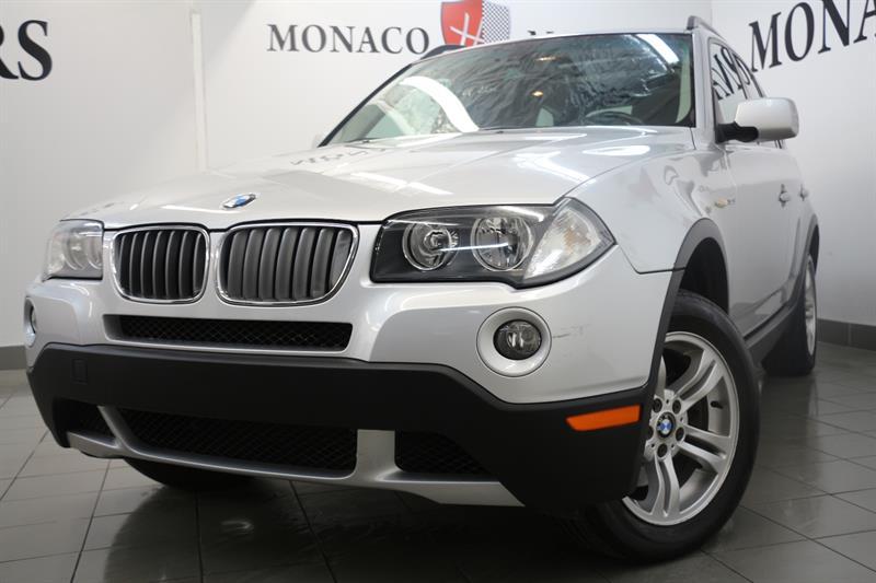 2008 BMW X3 AWD 3.0I PREMIUM PKG #7107