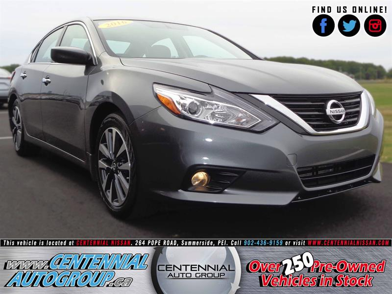 2016 Nissan Altima SV | 2.5L | i4-Cyl | Bluetooth | Heated Seats #SP17-030