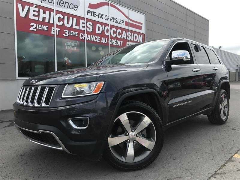 Jeep Grand Cherokee 2015 4WD 4dr Limited+CUIR+NAV+TOIT+20 POUCE+WOW! #UD4303