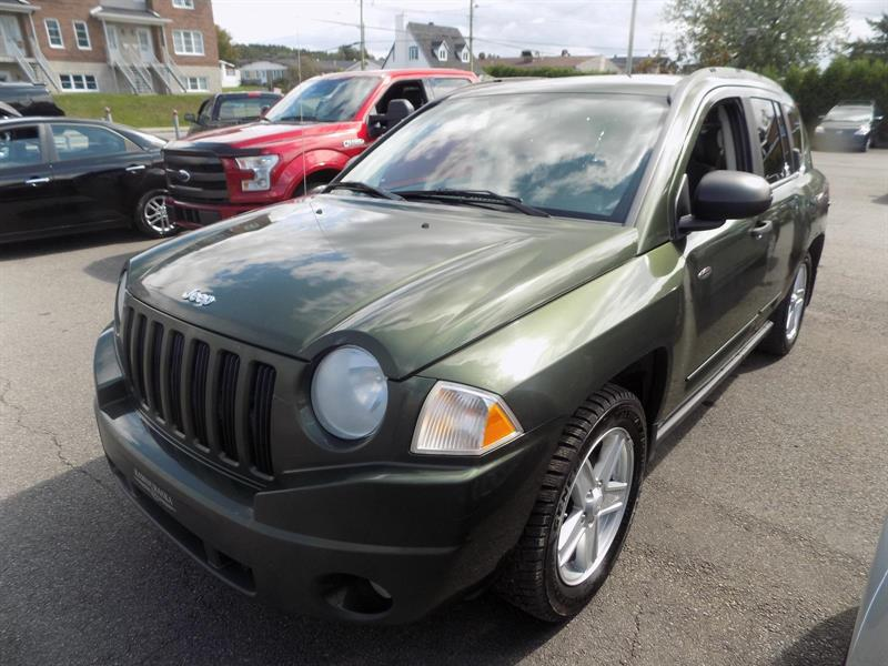 Jeep Compass 4WD 2008 Sport #AD4099