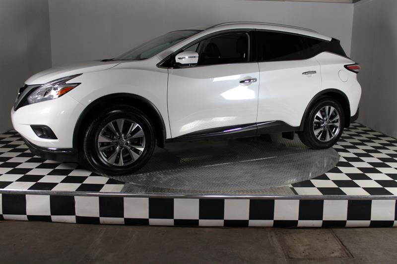 Nissan Murano 2017 SL AWD-cuir-GPS-toit panoramique #a6437-001