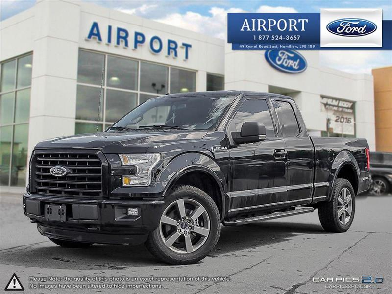 2016 Ford F-150 4WD SuperCab #A70838