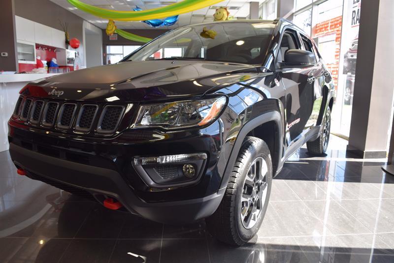 Jeep Compass 2017 Trailhawk*4WD*NAV*DÉMARREUR* #17-0766