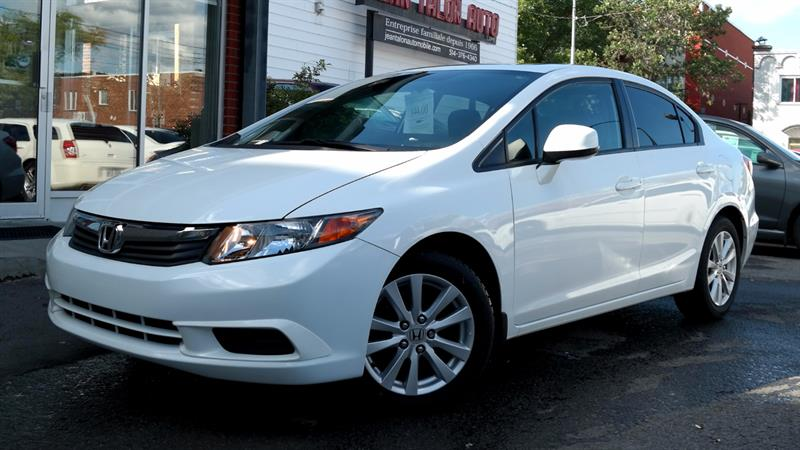 Honda Civic Sedan 2012 EX #HO12BL