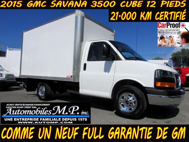 GMC Savana 3500 2015 CUBE 12 PIEDS 21.000 KM COMME UN NEUF #94