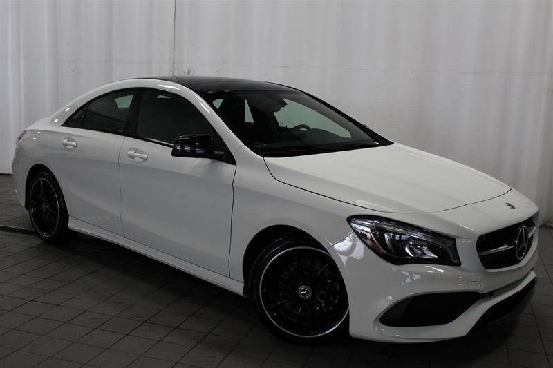 Mercedes-Benz CLA250 2018 4MATIC Coupe #18-0122