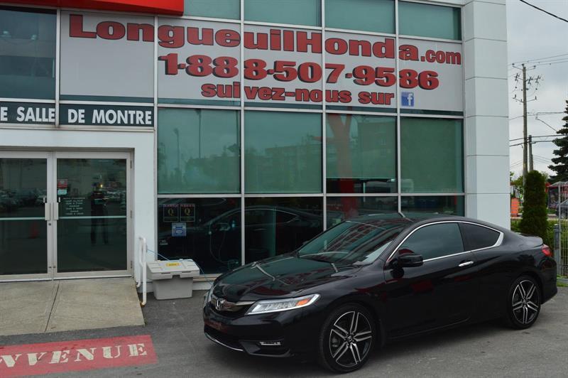 Honda Accord Coupe 2017 Touring #DEMOK3623