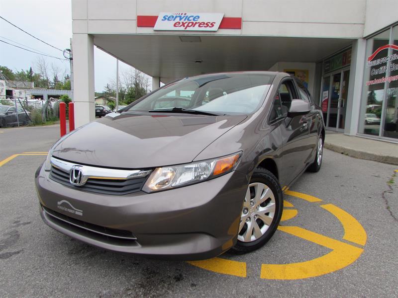 Honda Civic Sdn 2012 4dr Man LX #3177481