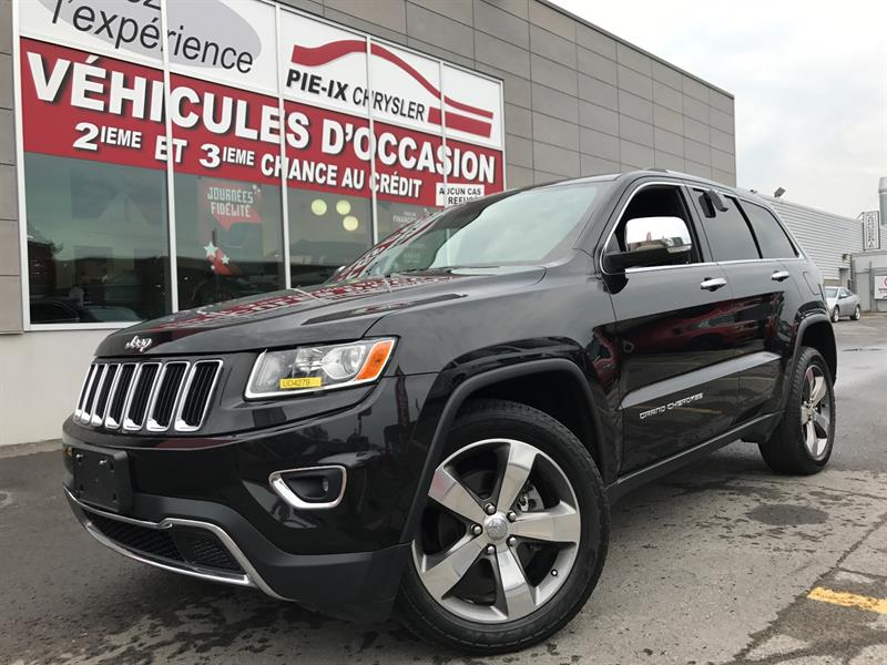 Jeep Grand Cherokee 2015 4WD 4dr Limited+CUIR+NAVI+TOIT+MAGS+WOW! #UD4279