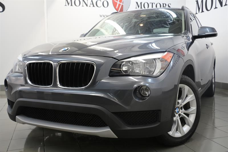 2014 BMW X1 AWD PREM PKG BT HT SEATS  #7115
