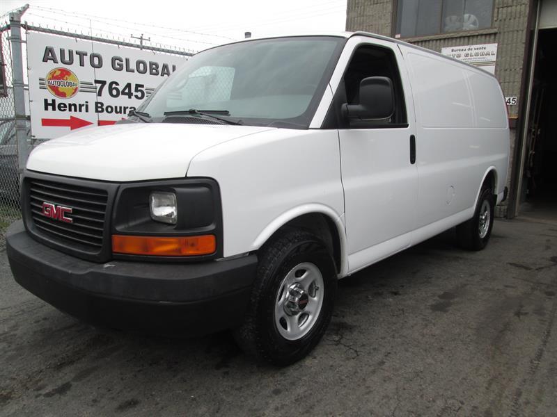 GMC Savana Cargo Van 2008 AUTO,RWD,V8,A/C,BAS MILAGE #17-872