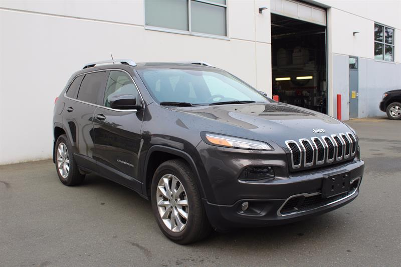 2015 Jeep Cherokee 4WD 4dr Limited #P2012