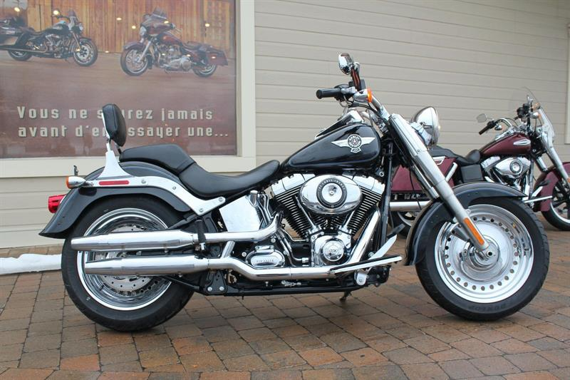 Harley Davidson FLSTF 2013