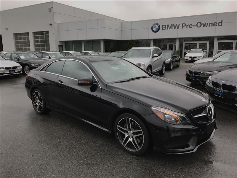 2016 Mercedes-Benz E400 4MATIC Coupe #BP5308