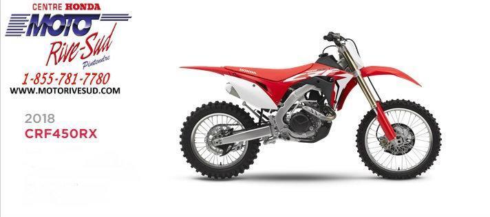 Honda CRF 450 RX 2018 MOTO #CRF450RX