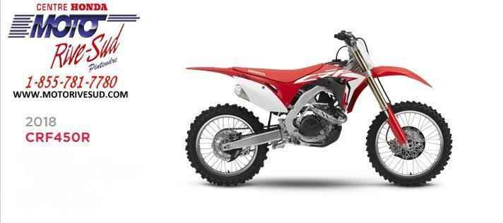 Honda CRF 450 R 2018