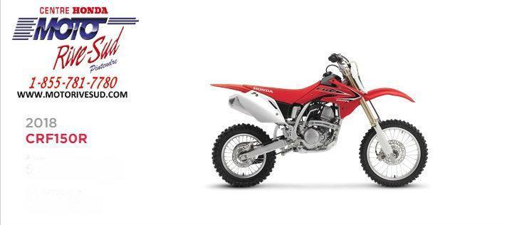 Honda CRF150R 2018