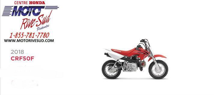 Honda CRF 50 F 2018