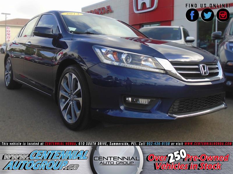 2014 Honda Accord Sedan Sport | 2.4L | i4-Cyl | Bluetooth #8784A