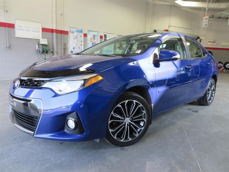 Toyota Corolla 2014 S Gr:D *TECHNO + GPS + CUIR* AUTOMATIQUE #U7624