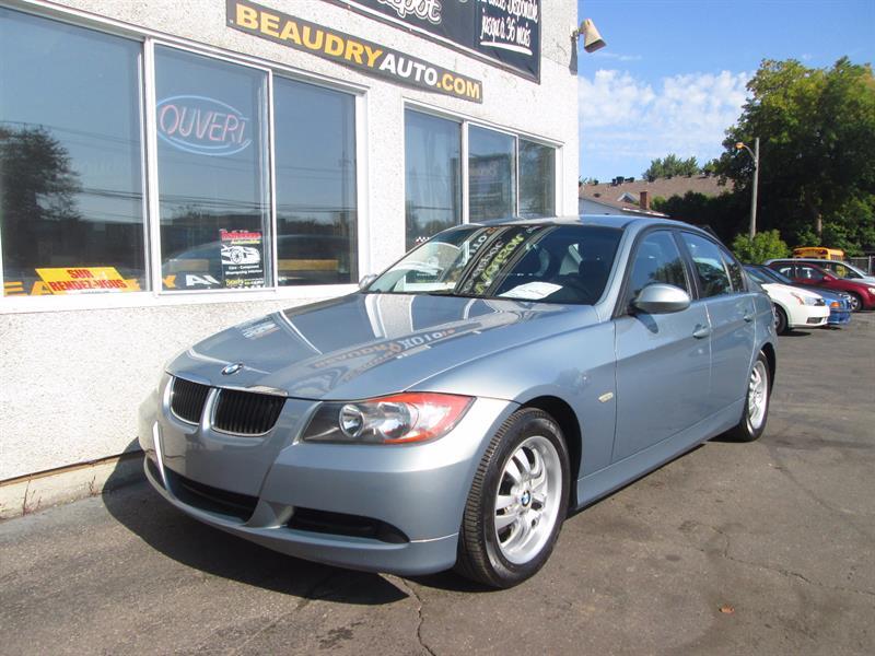 BMW 3 Series 2007  323i AUTO+FREINS NEUFS/4 ROUES #2819