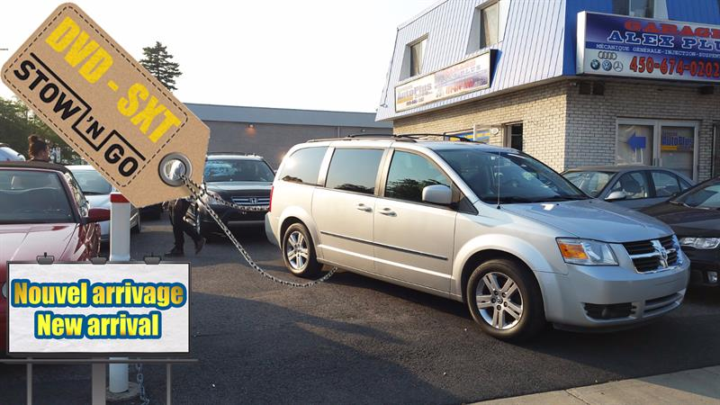 Dodge Grand Caravan 2010 DVD - SXT - MAG - 4.0L #DODGCAR10-SILVER