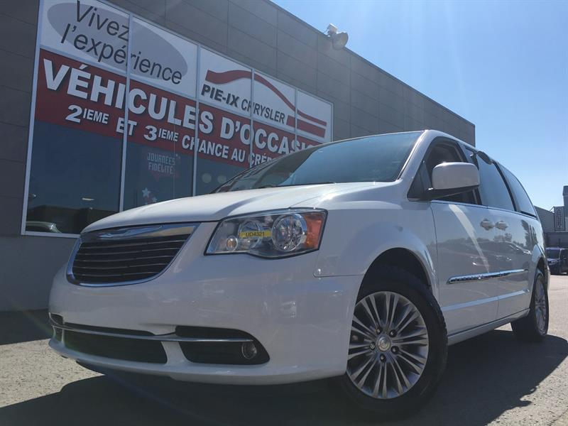 Chrysler Town - Country 2015 CUIR+MAGS+A/C+GR.ELEC+STOWNGO+WOW! #UD4321