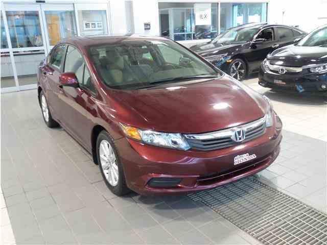 Honda Civic 2012 EX #A2859