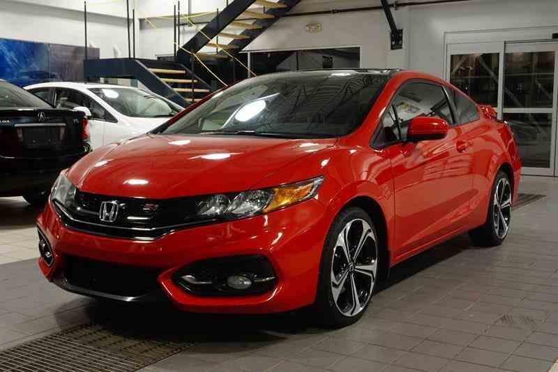 Honda Civic Coupe 2014 Si #A3038