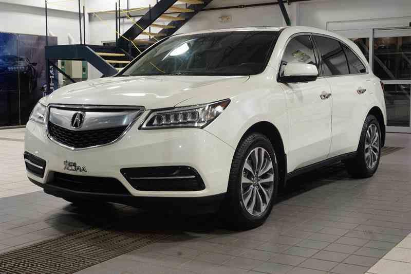 Acura MDX 2015 ENSEMBLE NAVIGATION #C833A