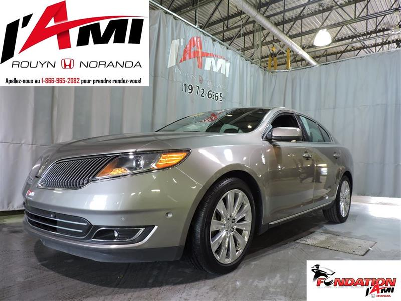 Lincoln MKS 2016 EcoBoost AWD GPS TOIT PANO MAGS #92884A