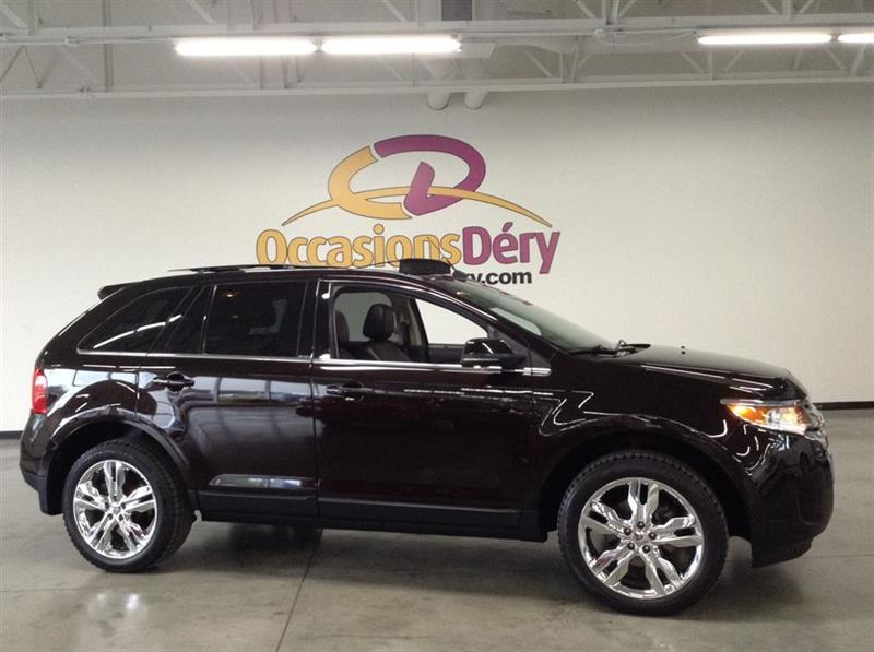 Ford EDGE 2013 LIMITED CUIR TOIT PANORAMIQUE NAVIGATION ET + #A4701A